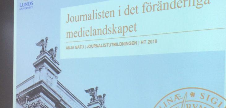 Anja Gatu på Lunds universitet